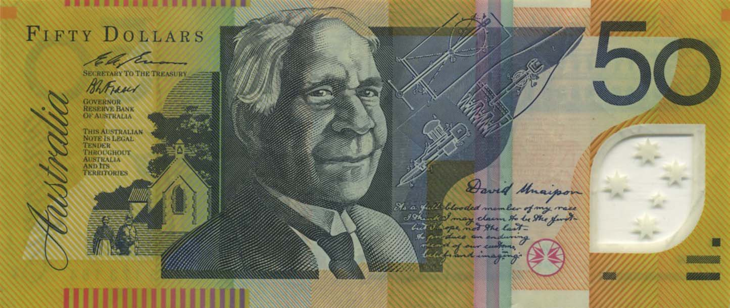 Banknotes of the Australian pound