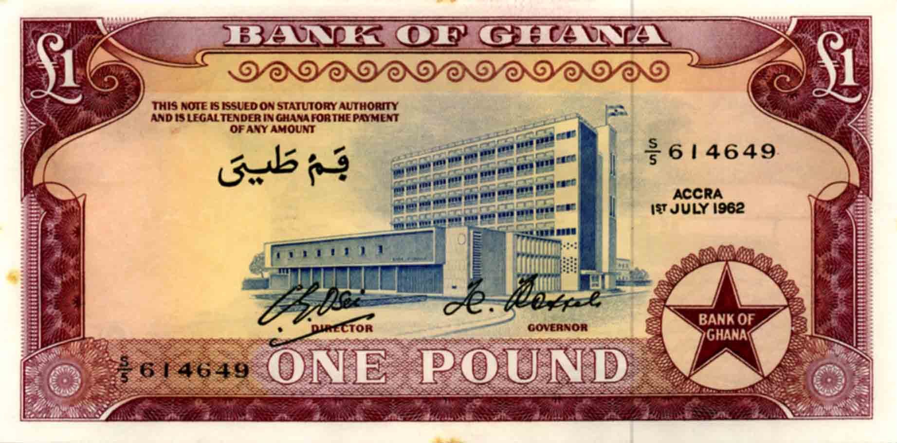 Bank of Ghana Building in